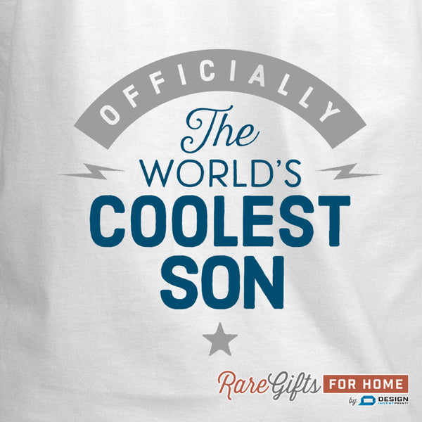 Son Gift, Birthday Gift For Son! Funny Apron, Coolest Son, Cooking Gift, Awesome Son, Personalized, Present For Son, Alternative Son Shirt