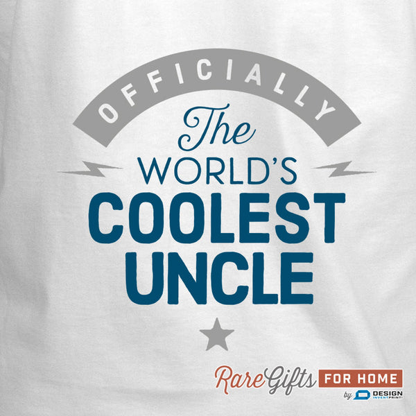 Uncle Gift, Birthday Gift For Uncle! Funny Apron, Coolest Uncle, Cooking Gift, Awesome Uncle, Personalized, Present For Uncle