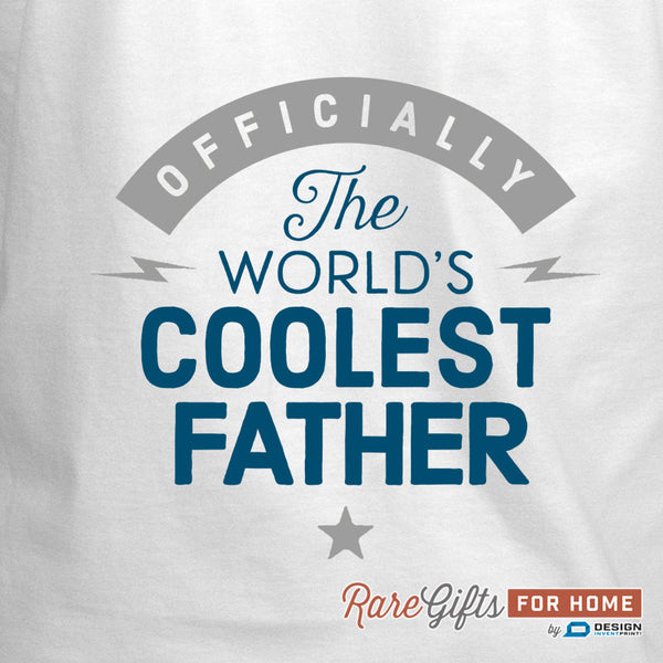 Father Gift, Birthday Gift For Father! Funny Apron, Coolest Father, Cooking Gift, Awesome Father, Personalized, Present For Father