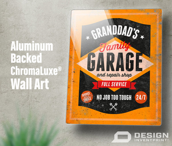 Granddad Gift, Birthday Gift For Granddad! Granddad's Garage & Repair Shop Present, New Granddad Gift, To Be, Granddad Picture Frame