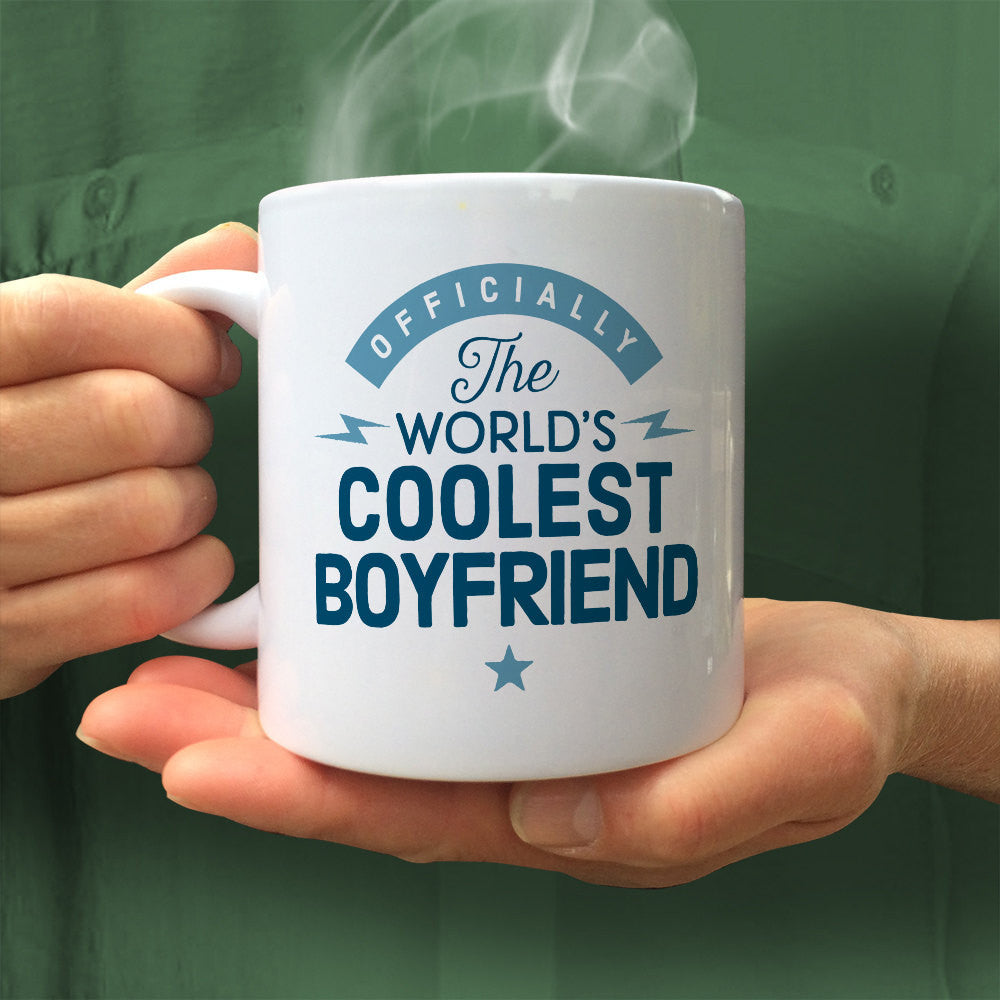 Cool Boyfriend Mug Birthday Gift For Design Invent Print