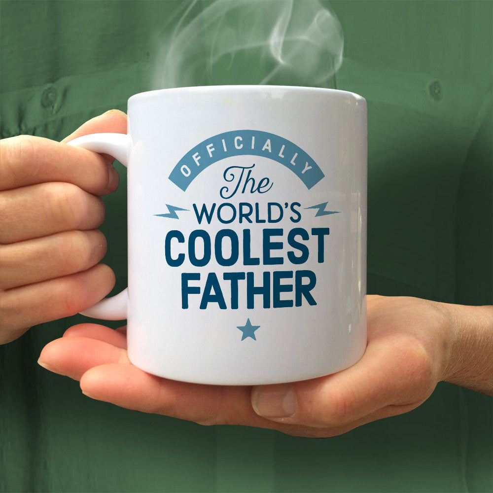 Father Gift Mug Fathers Day Birthday For Fathe Design Invent Print