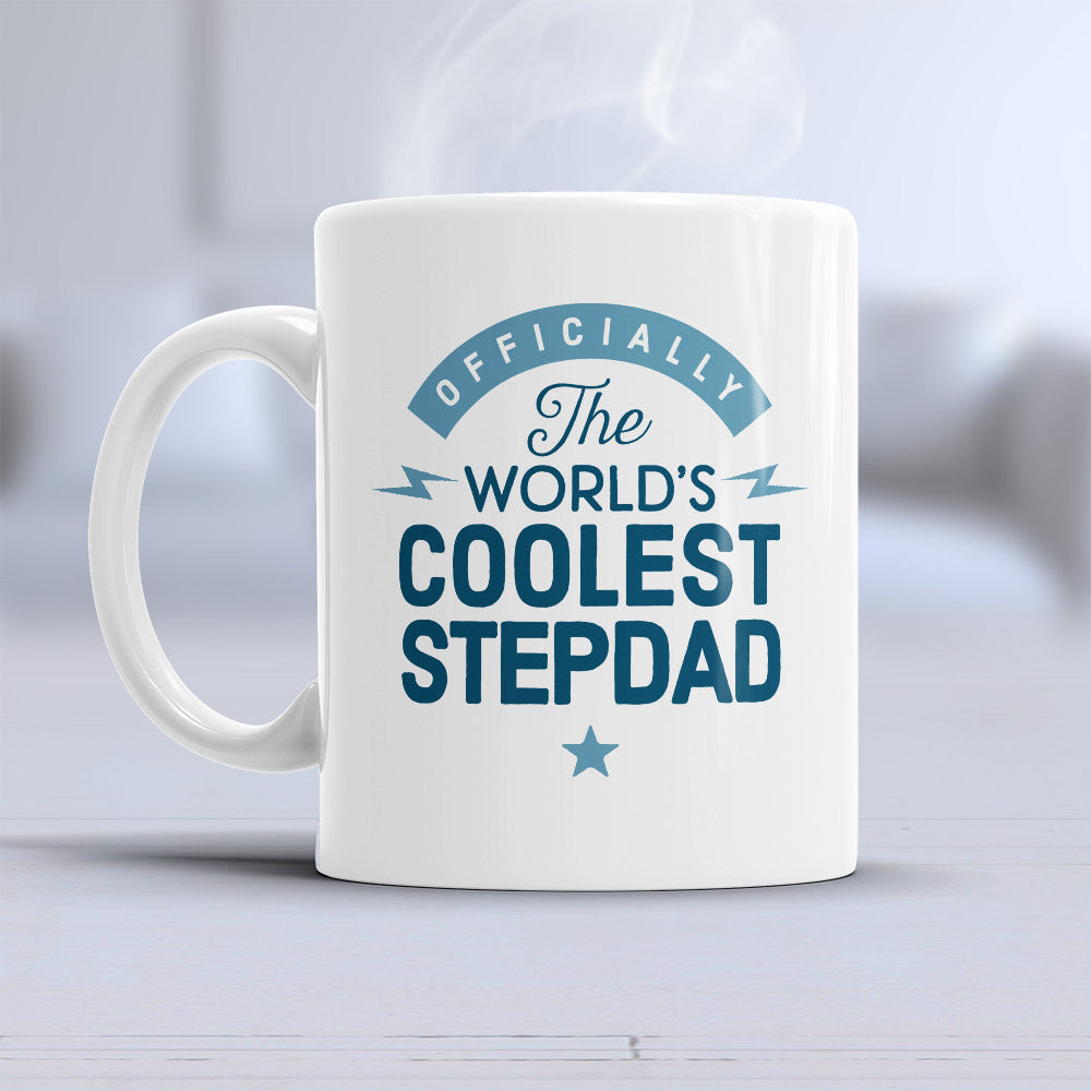 Cool Stepdad Mug Birthday Gift For St Design Invent Print