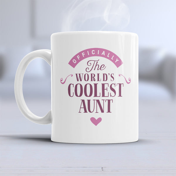 Aunt Gift, Cool Aunt, Aunt Mug, Birthday Gift For Aunt! Aunt Present, Aunt Birthday Gift, Gift For Aunt! Awesome Aunt or Birthday Aunt