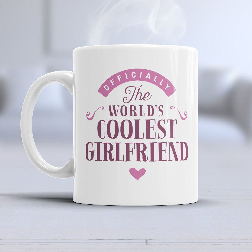 Cool Girlfriend Gift Mug Birthday For Gi Design Invent Print