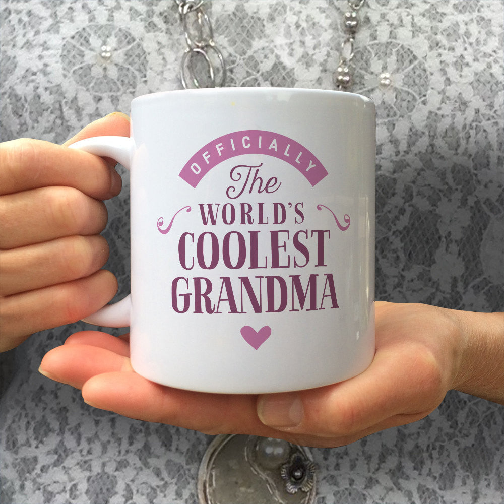 Grandma Gift Cool Mug Birthday For