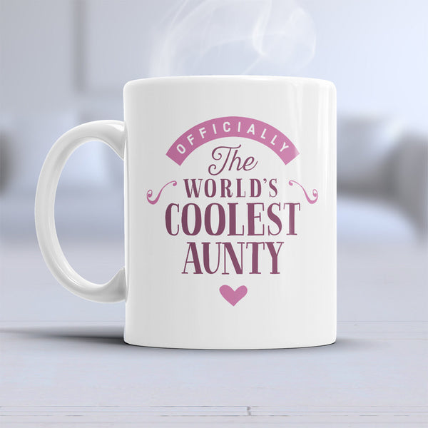 Aunty Gift, Cool Aunty, Aunty Mug, Birthday Gift For Aunty! Aunty Present, Aunty Birthday Gift, Gift For Aunty! Awesome, Birthday Aunty
