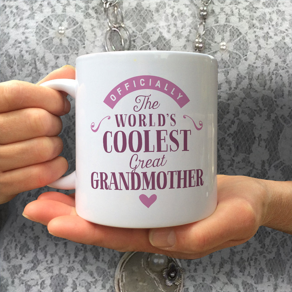 Cool Great Grandmother, Great Grandmother Gift, Great Grandmother Mug, Birthday Gift For Great Grandmother! Great Grandmother