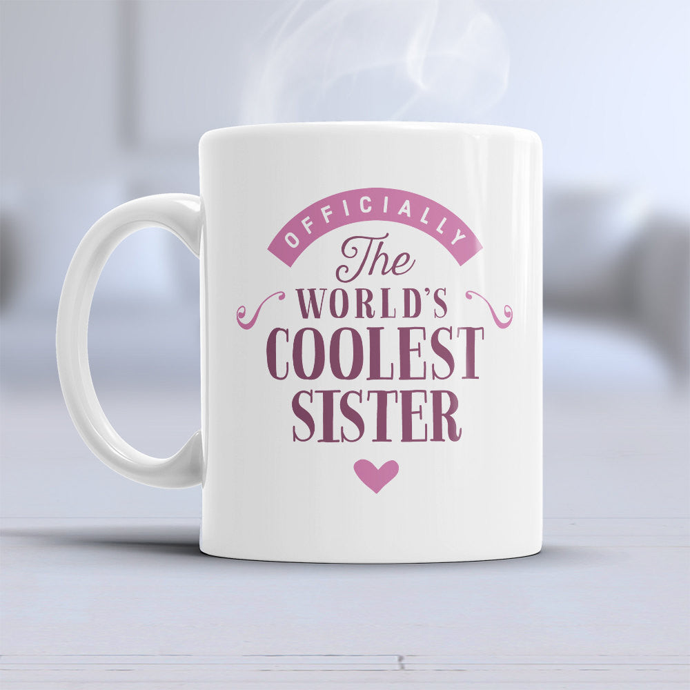 Sister Cool Gift Mug Birthday For
