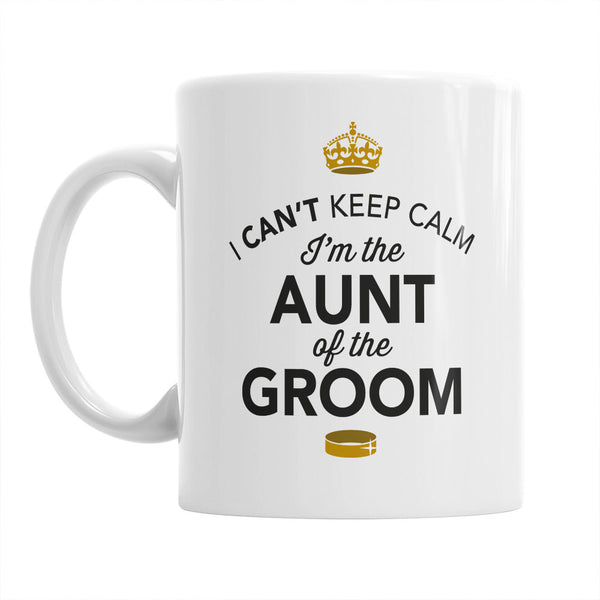 Aunt of The Groom, Wedding Mugs, Grooms Aunt, Grooms Aunt Gift, Grooms Aunt, Aunt of the Groom, Grooms Aunt Gift, Wedding Gift Ideas