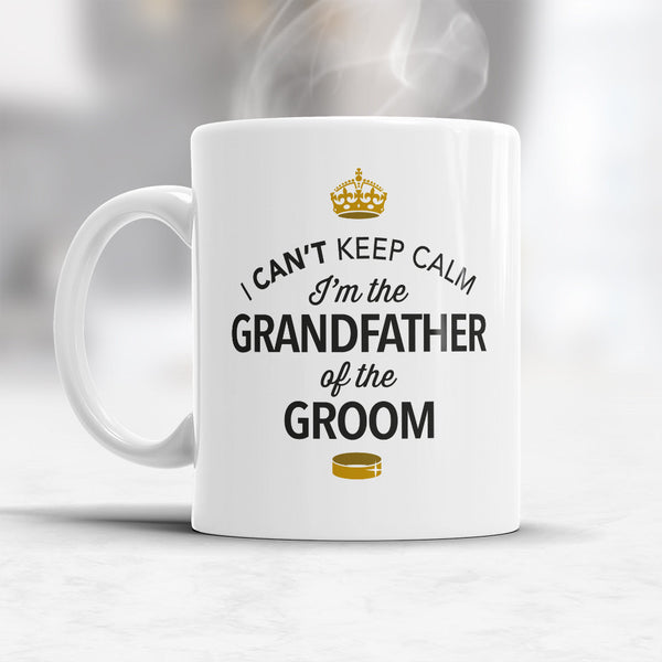 Grandfather of The Groom, Wedding Mugs, Grooms Grandfather, Grooms Grandfather Gift, Grandfather, Grandfather of The Groom,  Wedding Ideas