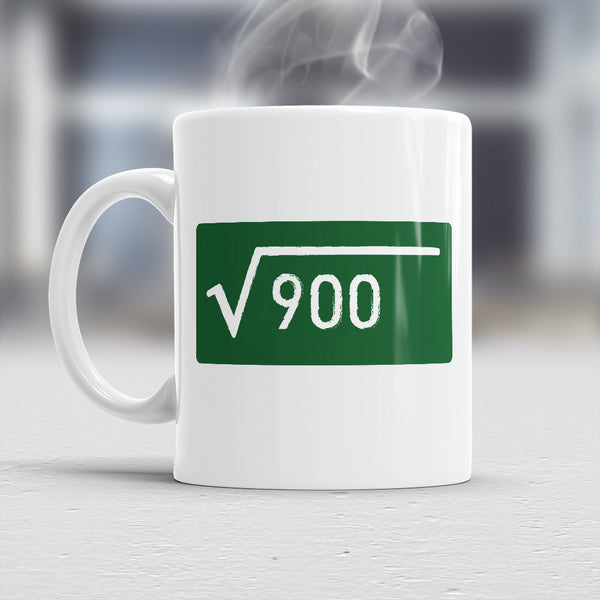 30th Birthday, Birthday mug, Square Root Of 900, 30th Birthday Gift, 30th Birthday Idea, Vintage, Birthday Gift 30 year old