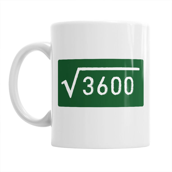 60th Birthday, 60th Birthday Gift, 60th Birthday Idea, Square Root 3600, Happy Birthday, 60th Birthday Present for 60 year old!