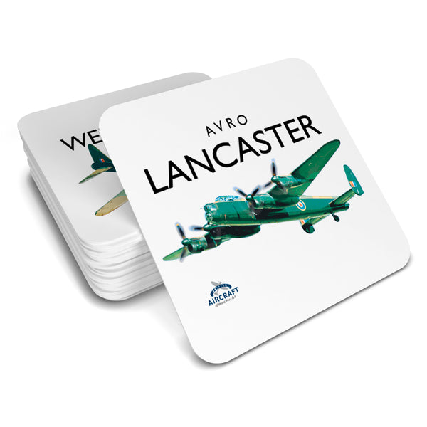 Avro Lancaster Gift, Drinks Coaster, WWII Aircraft Gift For Men and Women