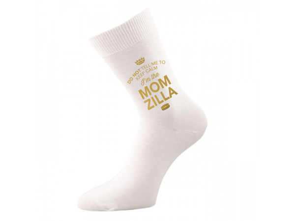 Mom Zilla, Mom Zilla Socks, Mom Zilla, Mom Zilla, Mom Zilla Gifts, Hen Do Gift, Wedding Gift Idea, Mom Zilla of Wedding Present, Wedding keepsake, Wedding Socks, Womens Socks, Size 4-7