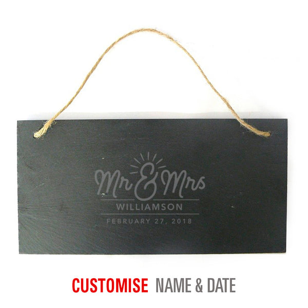 Bride & Groom, Mr & Mrs, Wedding Keepsake