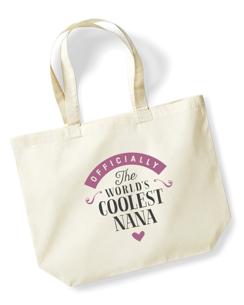 Nana Gift, Nana Birthday Bag, Keepsake, Tote, Shopping Bag