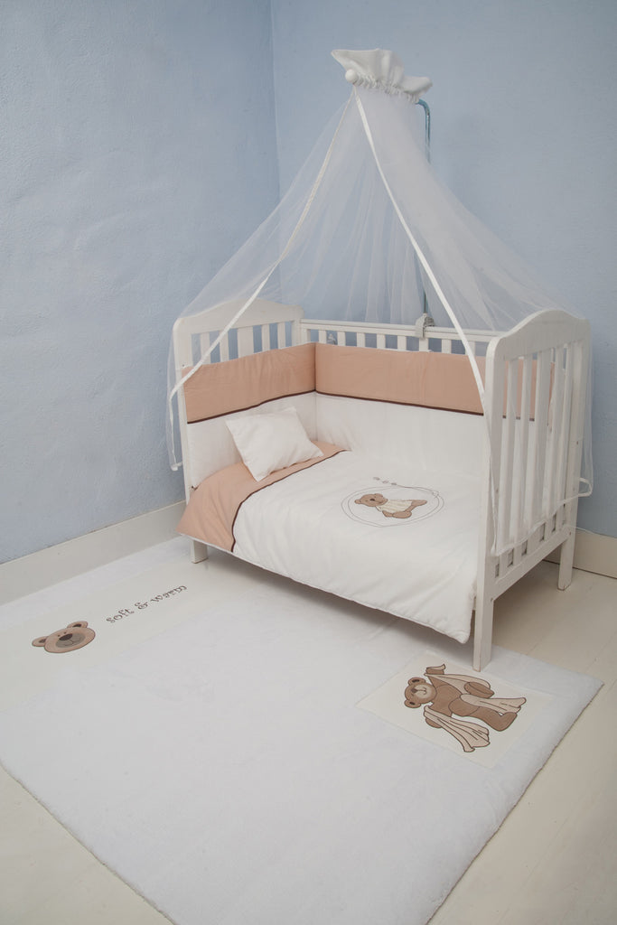 Nursery Bedding Set Eco Teddy