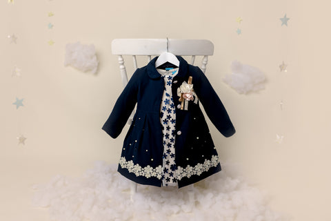 BROOKE - Girls Coat & Girls Dress Combo