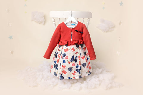 ROSANNA - GIRLS DRESS & GIRLS BOLERO