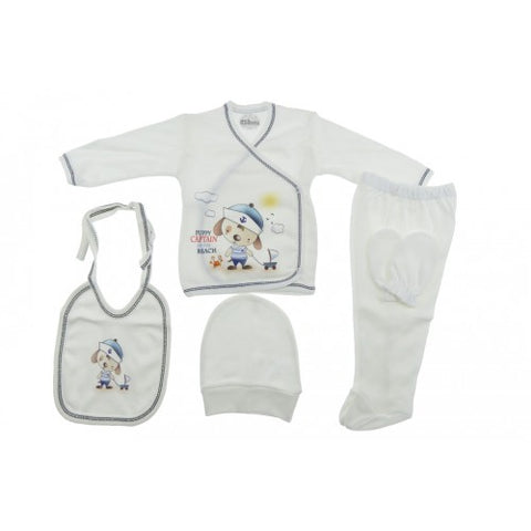 Captain Puppy 5 Piece Gift Set for a Baby