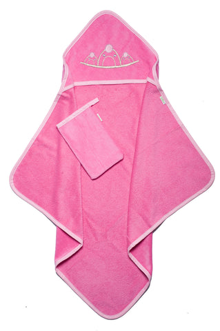 Princess Hooded Towel Set