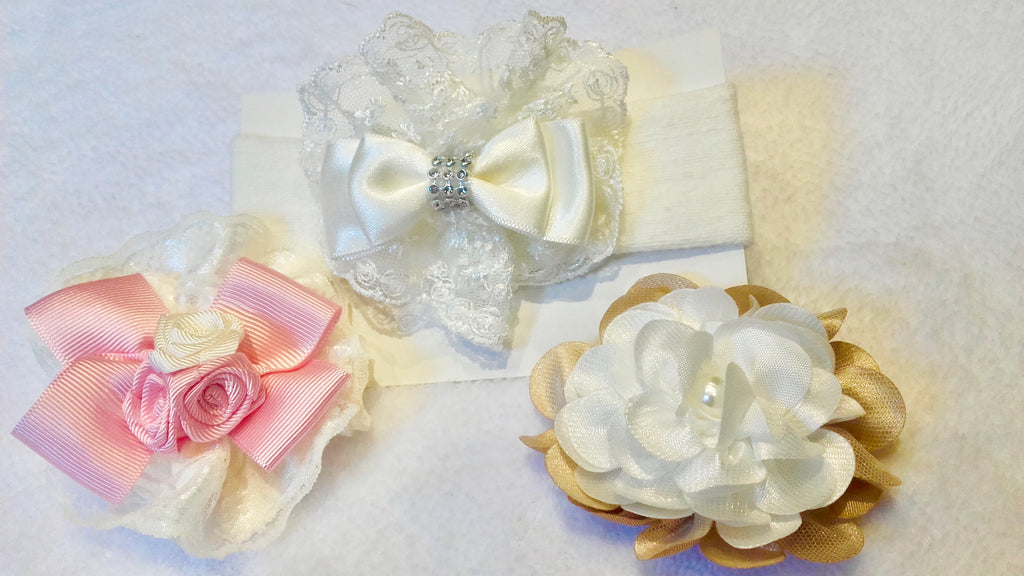Destina - 3 Bows in a Box (SOLD AS PACK OF 6)