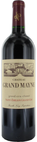 Chateau Grand Mayne, Saint Emilion, 1988