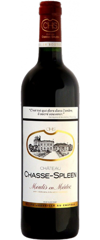 Chateau Chasse-Spleen, Moulis, 2013