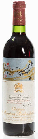 Chateau Mouton Rothschild, 1er Grand Cru Classé, 1981