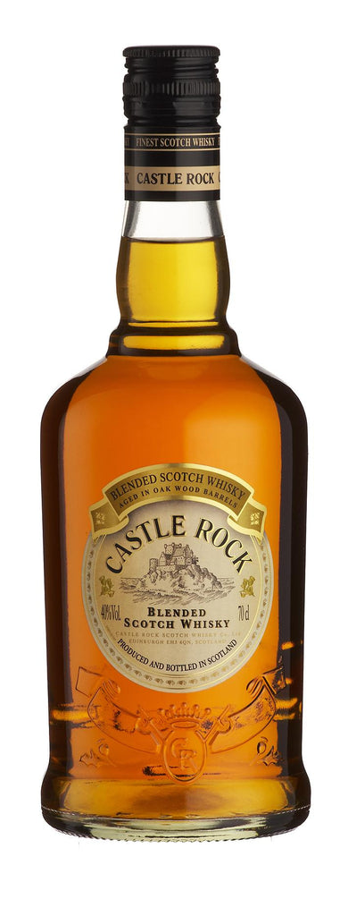 Whisky Castle Rock, Blended, 3 ans d'Age, 35cl