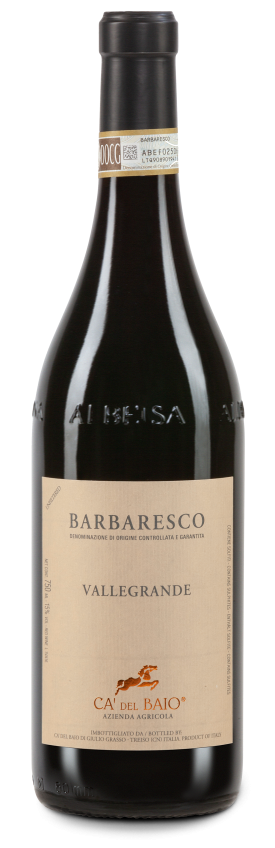"Domaine Ca Del Baio, Barbaresco DOCG, ""Vallegrande"", 150cl ""Magnum"", 2017"