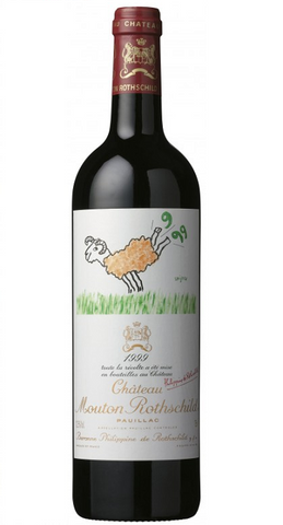 Chateau Mouton Rothschild, 1er Grand Cru Classé, 1999