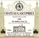 Chateau Lascombes, Margaux, 1978