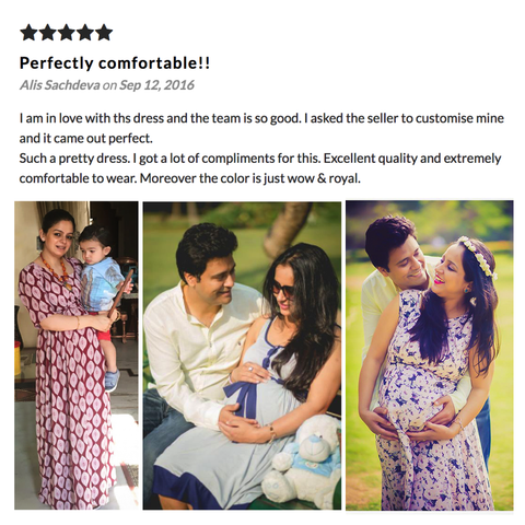 Momzjoy Customer Reviews Pregnancy Maternity Clothes India Online