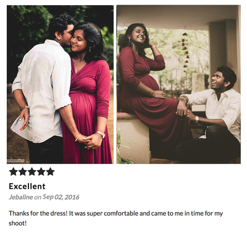 Momzjoy customer reviews maternity nursing fashion india online