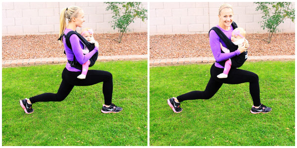 Momzjoy - maternity fashion -  Front Lunges