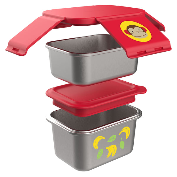 Monkey - Zoo Stainless Steel Lunch Kit