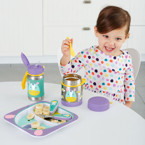 Unicorn - Zoo Insulated Little Kid Food Jar