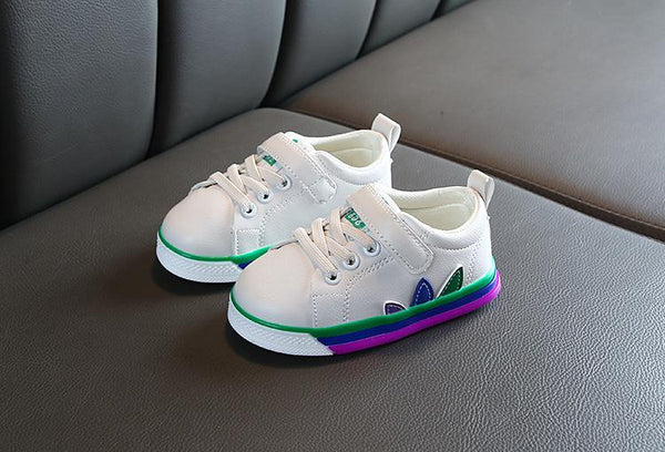 White Canvas Shoes (1-2.5 Yrs)