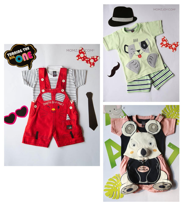 Red Owl Dress (0-24 months)