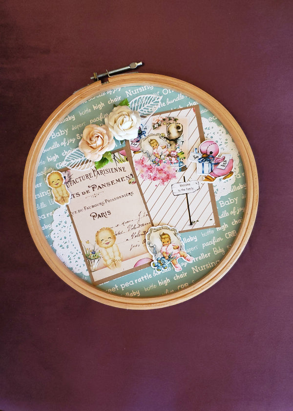 Picture Perfect Baby Frame - MOMZJOY.COM