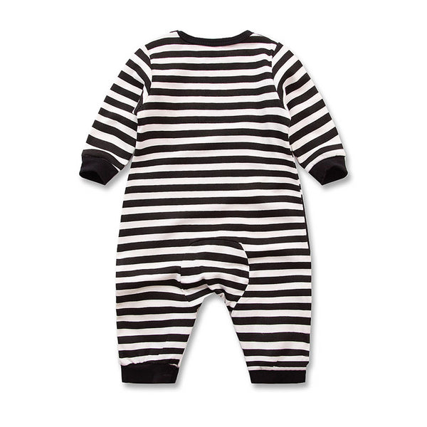 100% Cotton Cute Penguin Baby Romper (0-3 months) - MOMZJOY.COM