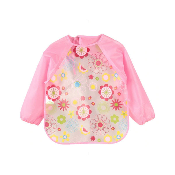 Waterproof Floral Toddler Feeding Bib - MOMZJOY.COM