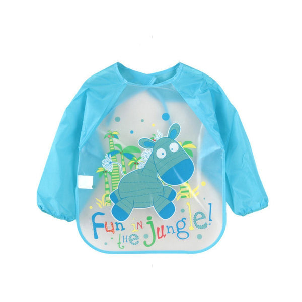 Waterproof Fun In Jungle Toddler Feeding Bib