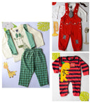 Little Red Man Set of 3 (0-18m)