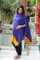 Deep Purple Versatile Nursing Stole