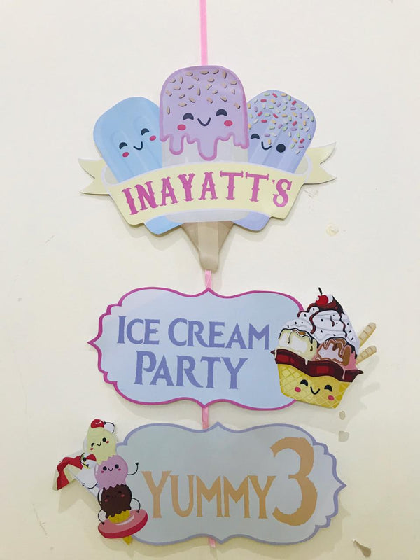 DIY Ice-Cream Decor Theme