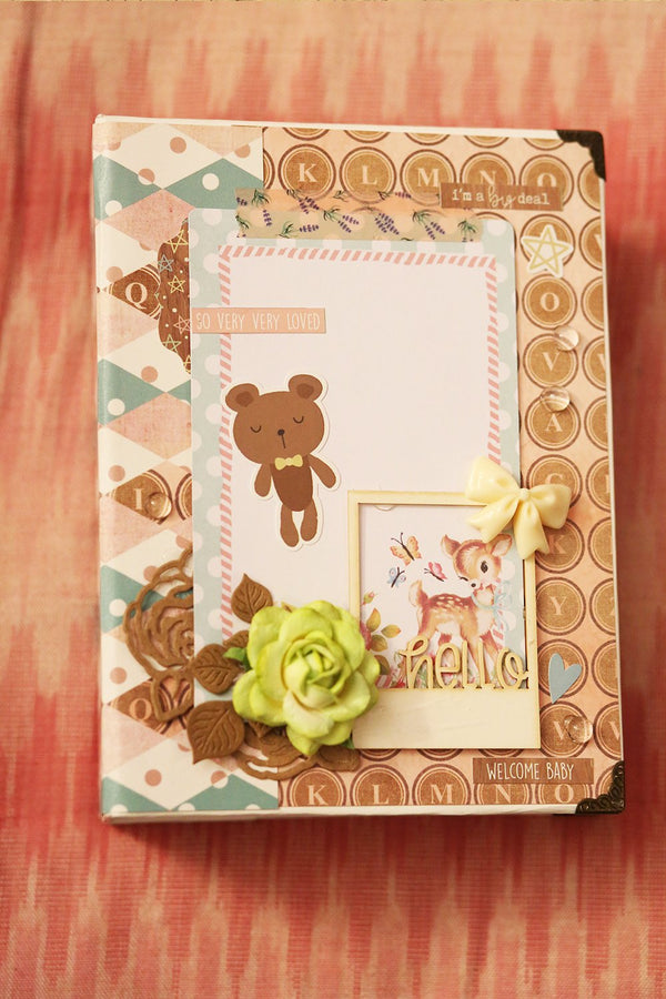 Handcrafted Newborn Baby Book - MOMZJOY.COM