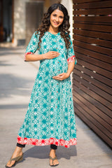 Emerald Star Maternity and Nursing Kurta